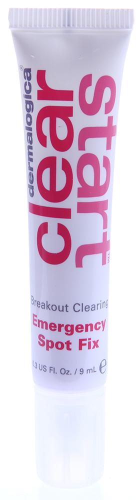 DERMALOGICA Корректор Экспресс помощь / Breakout Clearing Emergency Spot Fix CLEAR START 10млКремы<br>Этот активный концентрат действует непосредственно на отдельные воспаления. Формула продукта глубоко проникает в поры и в короткие сроки стирает следы воспаления. Бензол пероксид убивает бактерии, вызывающие воспалительные процессы в порах. Смесь компонентов из кедра хиба, зеленого чая, грейпфрута и коры магнолии успокаивает покраснения и раздражения кожи. Активные ингредиенты: бензол пероксид, кедр хиба, зеленый чай, грейпфрут, кора магнолии.Способ применения: нанесите точечно на воспалительные элементы (прыщи) и дайте продукту подсохнуть до применения увлажняющего крема. Можно наносить каждые 6-8 часов. Этот продукт не случайно называется экспресс-помощь. Всегда носите его с собой и при первых же признаках появления прыща немедленно наносите продукт на воспаление.<br><br>Возраст применения: До 25<br>Назначение: Прыщи