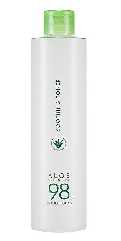 HOLIKA Тонер увлажняющий для лица Алоэ / Aloe Soothing Toner 300 мл