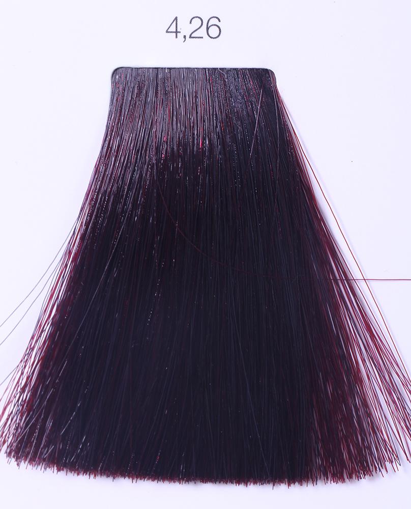 LOREAL PROFESSIONNEL 4.26 краска для волос / ИНОА ODS2 60грКраски<br>INOA - первый краситель, позволяющий достичь желаемых результатов окрашивания, окрашивать тон в тон, осветлять волосы на 3 тона, идеально закрашивает седину и при этом не повреждает структуру волос, поскольку не содержит аммиака. Получить стойкие, насыщенные цвета позволяет инновационная технология Oil Delivery System (ODS) система доставки красителя при помощи масла. Благодаря удивительному действию системы ODS при нанесении, смесь, обволакивая волос, как льющееся масло, проникает внутрь ткани волос, чтобы создать безупречный цвет. Уникальность системы ODS состоит также в ее умении обогащать структуру волоса активными защитными элементами, который предотвращает повреждения и потерю цвета.  После использования красителя окислением без аммиака Inoa 4.20 от LOreal Professionnel волосы приобретают однородный насыщенный цвет, выглядят идеально гладкими, блестящими и шелковистыми, как будто Вы сделали окрашивание и ламинирование за одну процедуру.  Способ применения: Приготовьте смесь из красителя Inoa ODS 2 и Оксидента Inoa ODS 2 в пропорции 1:1. Нанесите смесь на сухие или влажные волосы от корней к кончикам. Не добавляйте воду в смесь! Подержите краску на волосах 30 минут. Затем тщательно промойте волосы до получения чистой, неокрашенной воды.<br><br>Цвет: Корректоры и другие<br>Типы волос: Для всех типов
