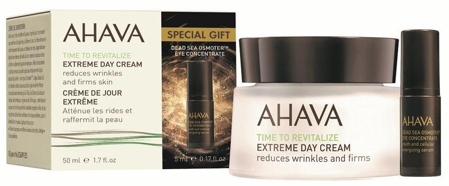 AHAVA Крем радикально восстанавливающий дневной 50 мл + сыворотка для глаз dsoc 5 в подарок / Time To Revitalize