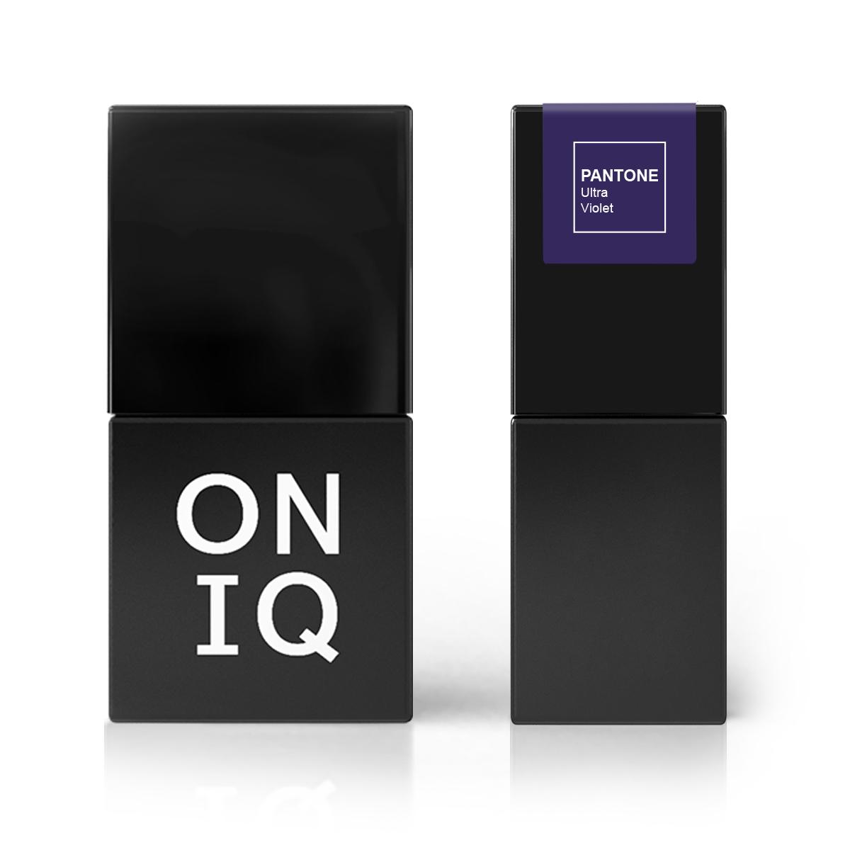 ONIQ Гель-лак для покрытия ногтей, Pantone: Ultra violet, 10 мл
