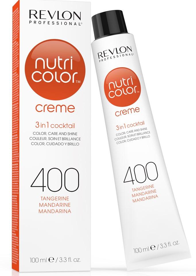 Купить REVLON Professional 400 краска 3 в 1 для волос, оранжевый / NUTRI COLOR CREME 100 мл