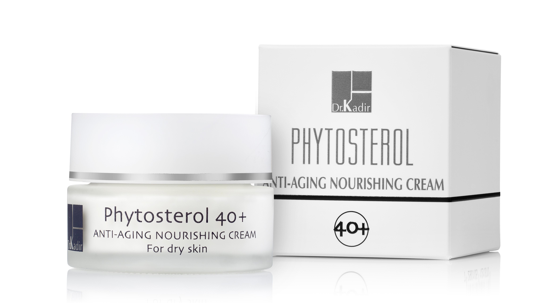 DR KADIR Крем питательный регенерирующий для сухой кожи / Phytosterol 40+ home care 50мл