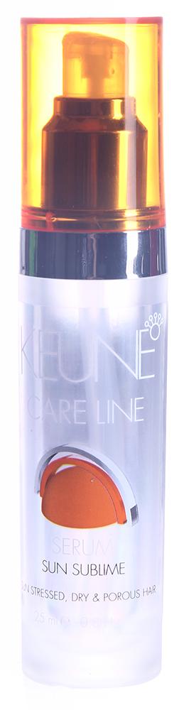 KEUNE Сыворотка Кэе Лайн Экстра защита / CL SUN SERUM 25млСыворотки<br>Сыворотка с витамином Е и ультрафиолетовыми фильтрами. Защищает волосы от свободных радикалов, возникающих из-за ежедневного воздействия ультрафиолетовых лучей. Сохраняет естественный и косметический цвет волос, их структуру. Активный состав: Витамин Е, УФ-фильтры.<br><br>Объем: 25<br>Класс косметики: Косметическая