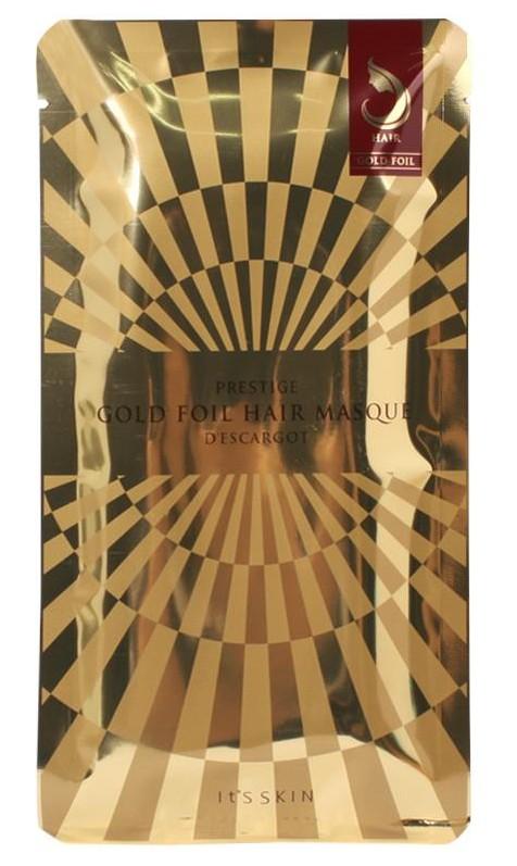 It'S SKIN Маска восстанавливающая для волос Дескарго Голд / Prestige Gold Foil Hair Masque D'escargot 40 г