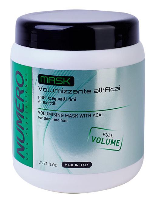 Купить BRELIL professional Маска с экстрактом ягод асаи для придания объема волосам / Numero 1000 мл