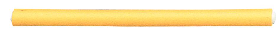 SIBEL Бигуди-папиллоты желтые 18 см*12 мм (41179)