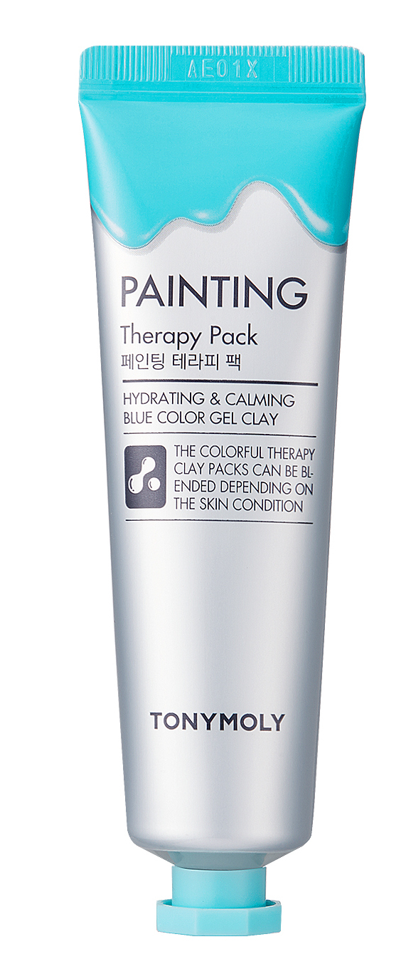 TONY MOLY Маска для лица / Painting Therapy Pack Hydrating & Calming 30 мл маска tony moly painting therapy pack sebum control объем 30 мл