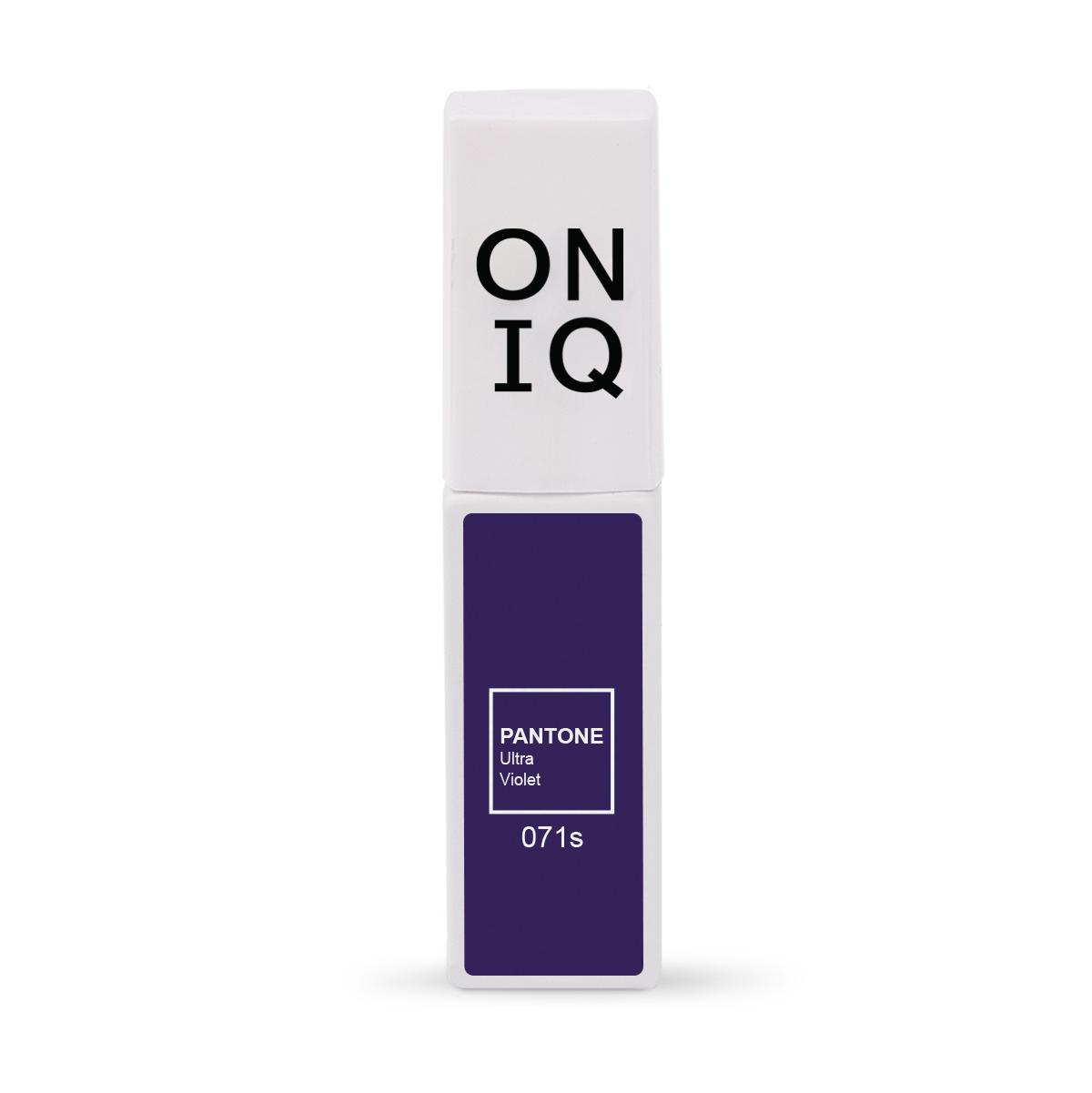 ONIQ Гель-лак для покрытия ногтей, Pantone: Ultra violet, 6 мл