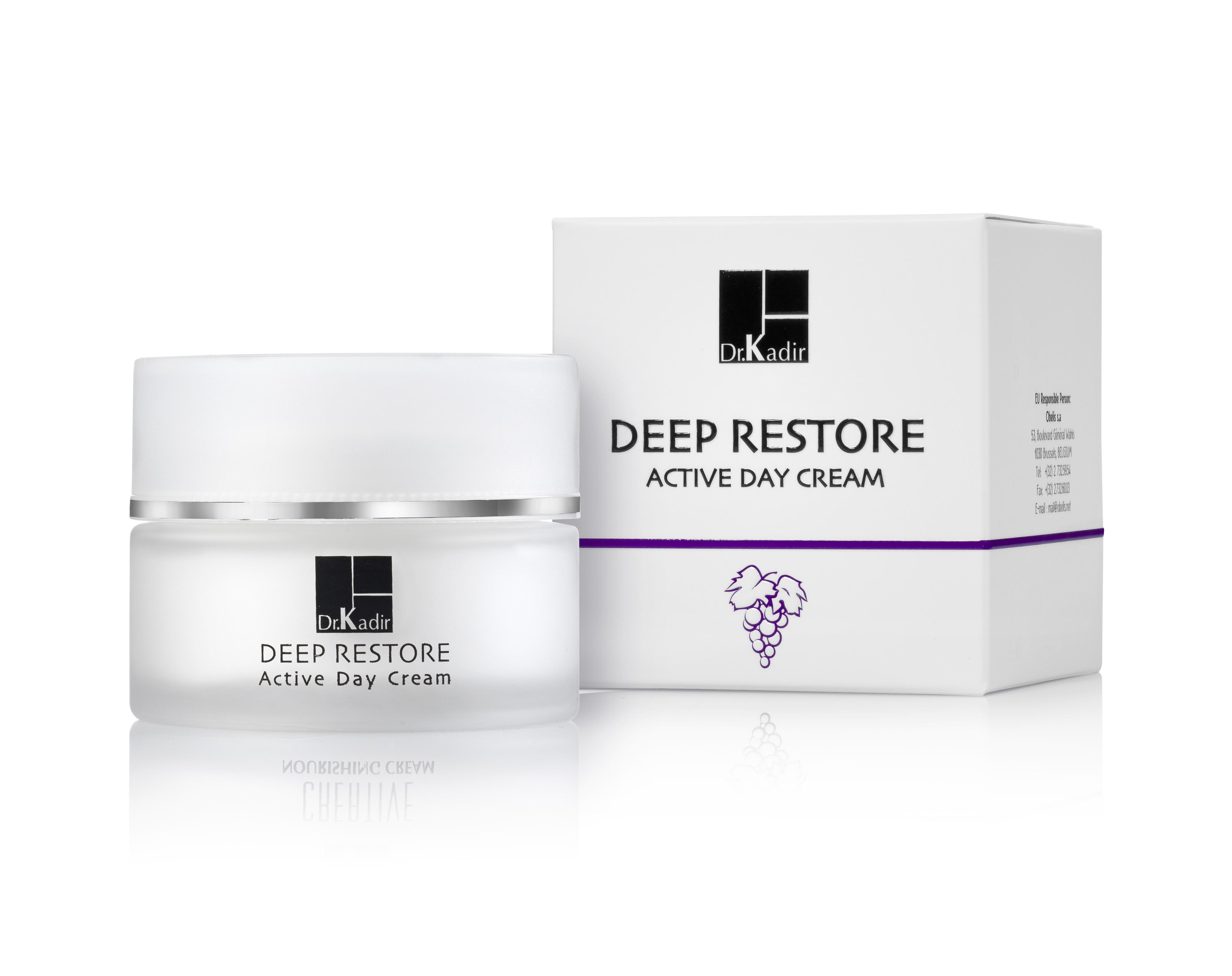 Dr. kadir крем активный дневной / deep restore