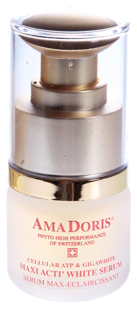 AMADORIS Сыворотка концентрированная на клеточном уровне 15млСыворотки<br>Сыворотка для лица обеспечивает эффективную гидратацию кожи, является источником энергии и формирования клеточного метаболизма. Благодаря эфирному маслу мяты, обладает антисептическими, освежающими, тонизирующими свойствами. Сыворотка для лица содержит альпийский осветлитель кожи, полученный из семи швейцарских Альпийских растений (просвирника, мяты, примулы, мелисы, мальвы и т.д.). Дает широкополосную защиту от солнечного излучения, задерживает преждевременное старение кожи из-за вредного воздействия солнечных лучей. Активные ингредиенты: Каприлил гликоль, гиалуронат натрия, Экстракты примулы, мелиса, мальва, фруктовый экстракт папайи. Эфирное масло мяты.  Способ применения: Каждое утро и/или вечер нанесите концентрированную сыворотку для лица на клеточном уровне AmaDoris, на полностью очищенную кожу лица и шеи, затем используйте увлажняющий лосьон AmaDoris, подходящий для Вашего типа кожи.<br><br>Возраст применения: После 45