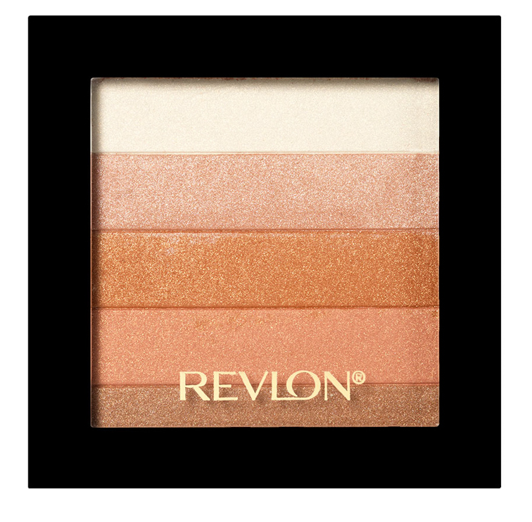 REVLON Палетка хайлайтеров для лица 030 / Highlighting Palette Bronze glow - Румяна