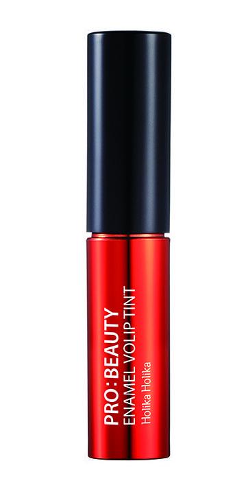 HOLIKA HOLIKA Тинт глянцевый для губ Про:бьюти Энамель, RD02 ярко-красный / Pro:beauty Enamel Volip Tint Ambitious Red 4,5 г