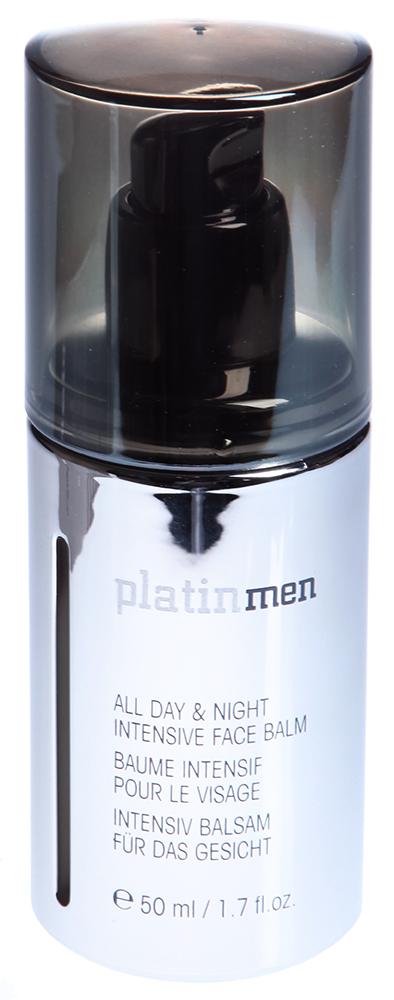 ETRE BELLE Бальзам для лица мужской / Platinmen All Day Night Intensive Face Balm 50млПосле бритья<br>Интенсивный бальзам насыщает кожу энергией, успокаивает и восстанавливает кожу. Прекрасно подходит для использования после бритья, так как усиливает свойственные коже барьерные функции, препятствует образованию морщин, содержит специальный платиновый комплекс, предотвращающий образование морщин. Обладает приятным мужским запахом Показание: для всех типов кожи мужчин Активные вещества: Наноплатина, Косметин, Ion-moist, экстракт солода (Whisky), витамин А, витамин Е, глюкоза, пантенол, масло из виноградных косточек, миндальное масло Способ применения: Применяется после бритья, наносится легкими массажными движениями на кожу лица.<br><br>Пол: Мужской