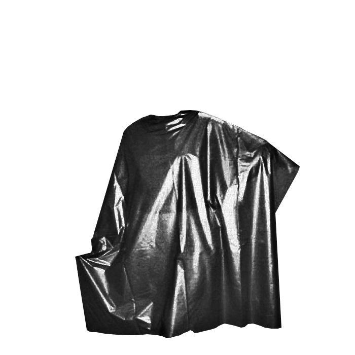 DOMIX Пеньюар полиэтиленовый 100*140 черный 50 шт
