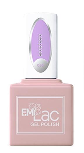 Купить E.MI 056 PA гель-лак для ногтей, Мистери / E.MiLac 6 мл, Фиолетовые