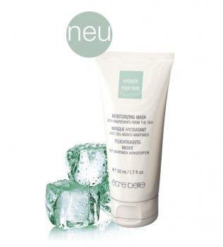 ETRE BELLE Маска увлажняющая / Skin Therapy 50 млМаски<br>Увлажняющая кремовая маска является интенсивным уходом за обезвоженной кожей. Благодаря высокому содержанию в маске натурального экстракта бурых водорослей, экстракта листьев зеленой мяты, а также гиалуроновой кислоты, интесивно увлажнет и улучшает способность кожи удерживать влагу, обладает невероятно длительным эффектом. После применения кожа становится более упругой, свежей и гладкой. Показание: для обезвоженной кожи любого возраста. Способ применения: наносить 1-2 раза в неделю, на тщательно очищенную кожу лица. Через 15 минут снять остатки маски влажным спонжем или полотенцем. Можно использовать как интенсивный ночной уход. Для этого нанесите маску тонким слоем и оставить на всю ночь. Активные ингредиенты: экстракт бурых водорослей, гиалуроновая кислота, экстракт листьев зеленой мяты, бетаин, токоферол, фосфолипиды, кокосовое масло.<br><br>Вид средства для лица: Увлажняющий<br>Возраст применения: После 25<br>Типы кожи: Сухая и обезвоженная<br>Назначение: Обезвоживание