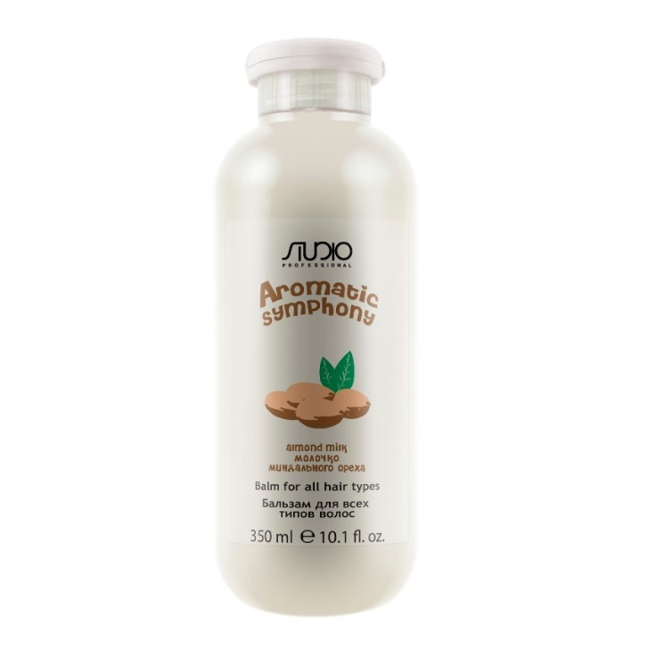 STUDIO PROFESSIONAL Бальзам для всех типов волос Молочко миндального ореха / Aromatic Symphony 350 мл фото