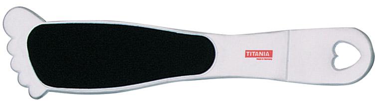 TITANIA Терка для педикюра, в форме ступни 3028