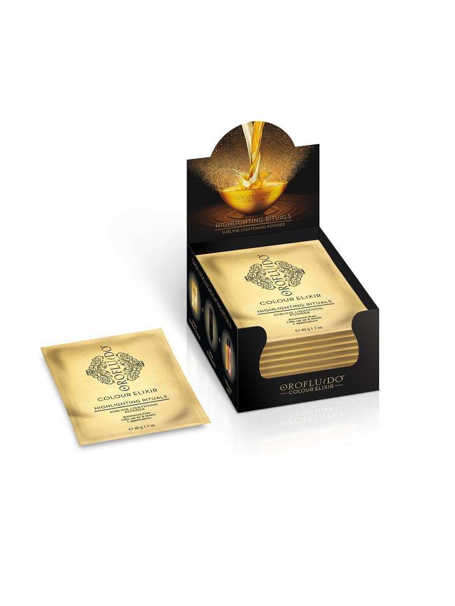 OROFLUIDO Пудра осветляющая для бережного мелирования / OROFLUIDO COLOR, 8*40 гр
