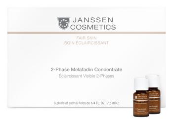 JANSSEN Комплекс осветляющий двухфазный / 2-Phase Melafadin Concentrate FAIR SKIN 6*7,5 мл