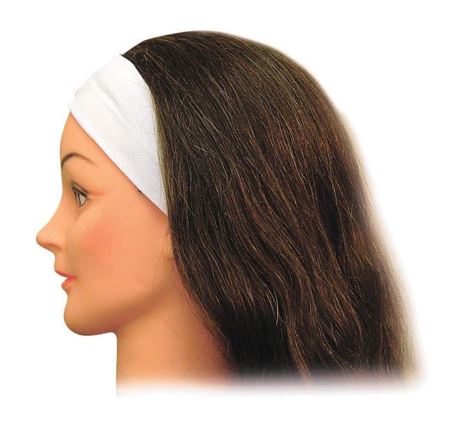 SIBEL Лента косметическая узкая белая Sibel