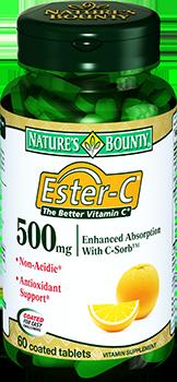NATURES BOUNTY Эстер-С 500 мг № 60