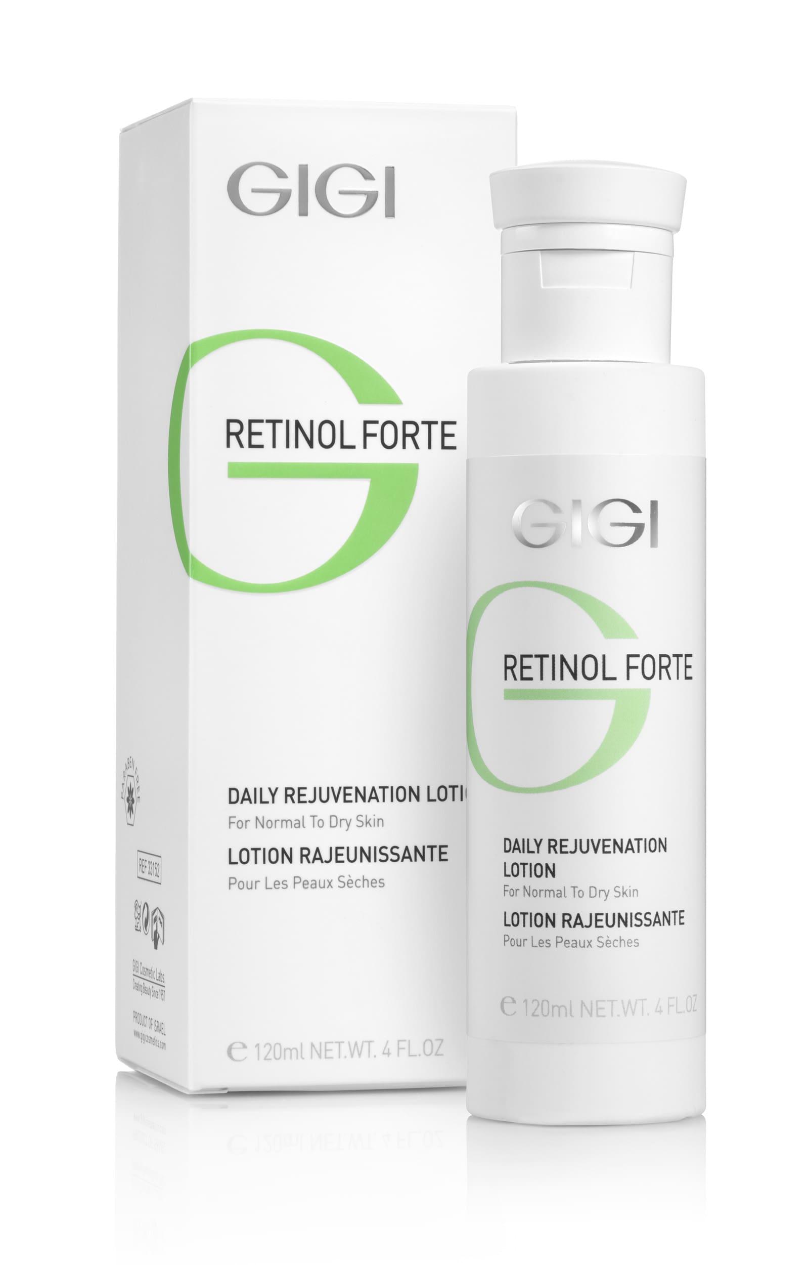 GIGI Лосьон-пилинг для нормальной и сухой кожи / Rejuvenation Dry RETINOL FORTE 120 мл