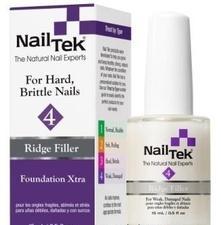 NAIL TEK Покрытие базовое выравнивающее для сильно поврежденных ногтей / FOUNDATION XTRA 4 15мл