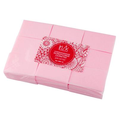 IRISK PROFESSIONAL Салфетки безворсовые супервпитывающие 4*6 см, 02 розовые 600 шт