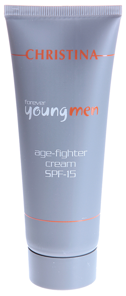 CHRISTINA Крем против старения для мужчин с СПФ15 / Age Fighter Cream FOREVER YOUNG 75мл