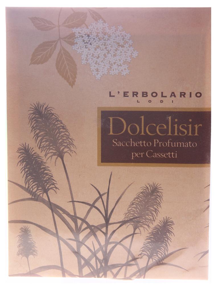 LERBOLARIO Саше ароматизированное для комода Сладкий эликсир