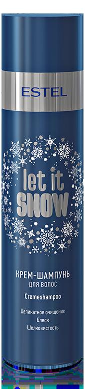 ESTEL PROFESSIONAL Крем шампунь для волос / Let it Snow 250 мл~