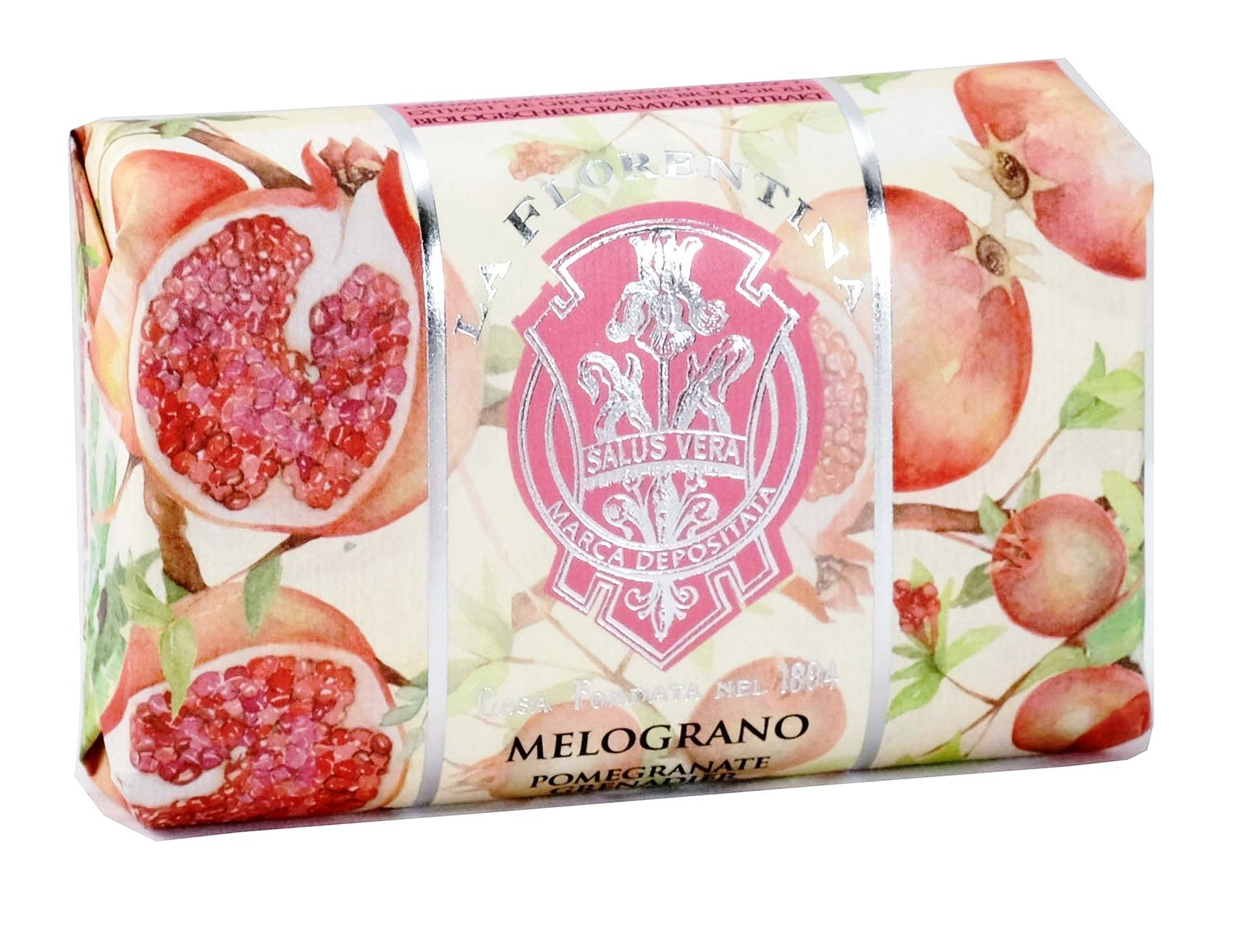 LA FLORENTINA Мыло натуральное, гранат / Pomegranate 200 г