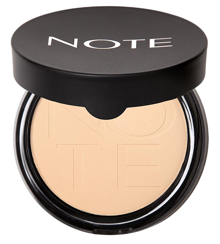 Купить NOTE Cosmetics Пудра компактная с эффектом сияния 01 / LUMINOUS SILK COMPACT POWDER 10 г