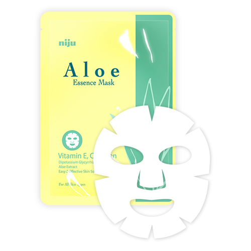 KONAD Маска Алоэ / niju Aloe Essence Mask 17мл