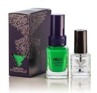 CHRISTINA FITZGERALD Лак для ногтей Зеленый мармелад + BOND / Nelly 12 + 9 мл - Лаки