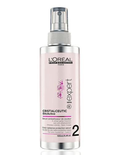 LOREAL PROFESSIONNEL Сыворотка для окрашенных волос Кристалсьютик / Vitamino Color AOX 190млСыворотки<br>2 этап процедуры Кристалсьютик. Сыворотка покрывает материю волоса легкой пленкой для защиты цвета и блеска окрашенных волос. Способ применения: после того как смыли маску Vitamino Color Cristalceutic для защиты цвета и блеска, нанести на волосы спрей, обрабатывая прядь за прядью. Не смывать. Приступить к укладке.<br><br>Объем: 190 мл<br>Типы волос: Окрашенные