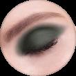 AVANT scene Тени микропигментированные, палитра зелено-красная, оттенок B001