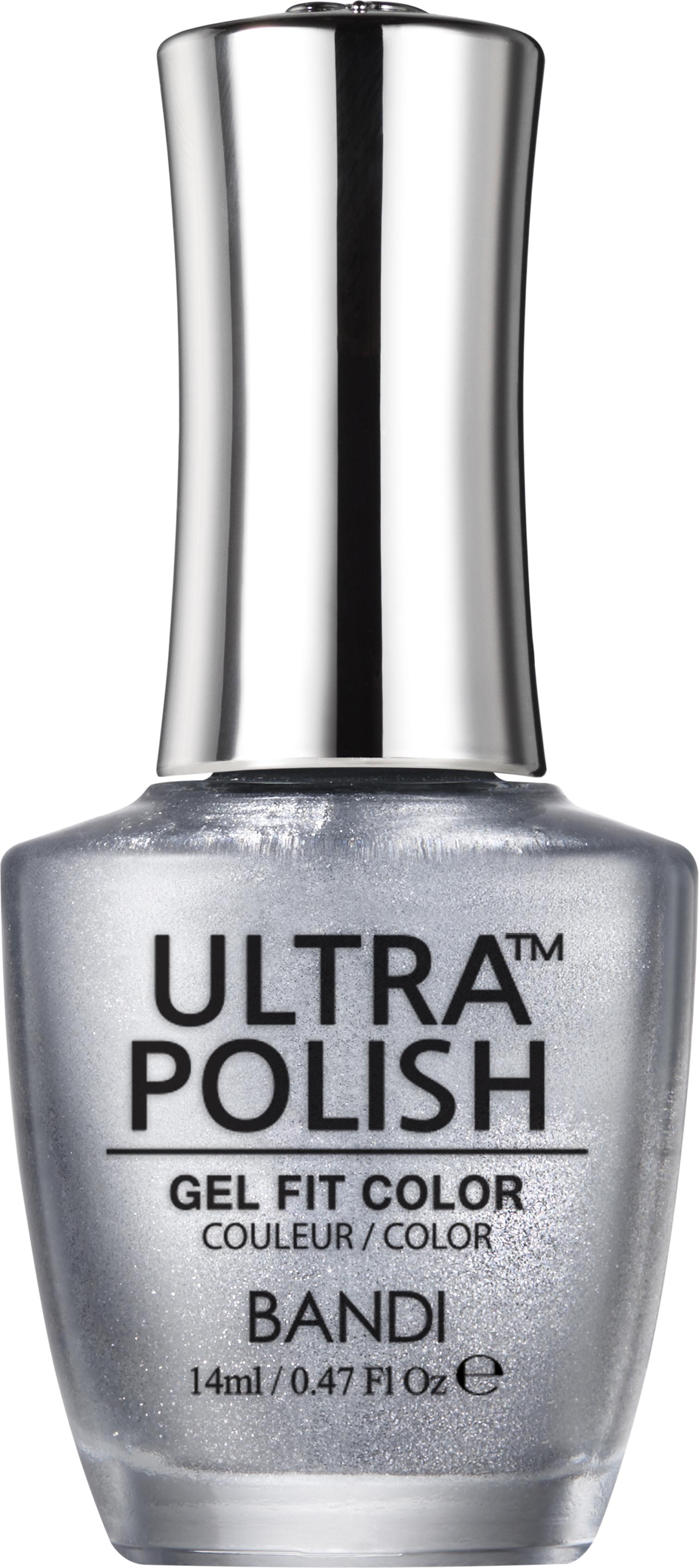 Купить BANDI UP803 ультра-покрытие долговременное цветное для ногтей / ULTRA POLISH GEL FIT COLOR 14 мл, Серые