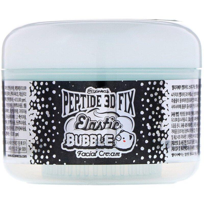 Купить ELIZAVECCA Крем пузырьковый для лица / Peptide 3D FIX Elastic Bubble Facial Cream 100 г