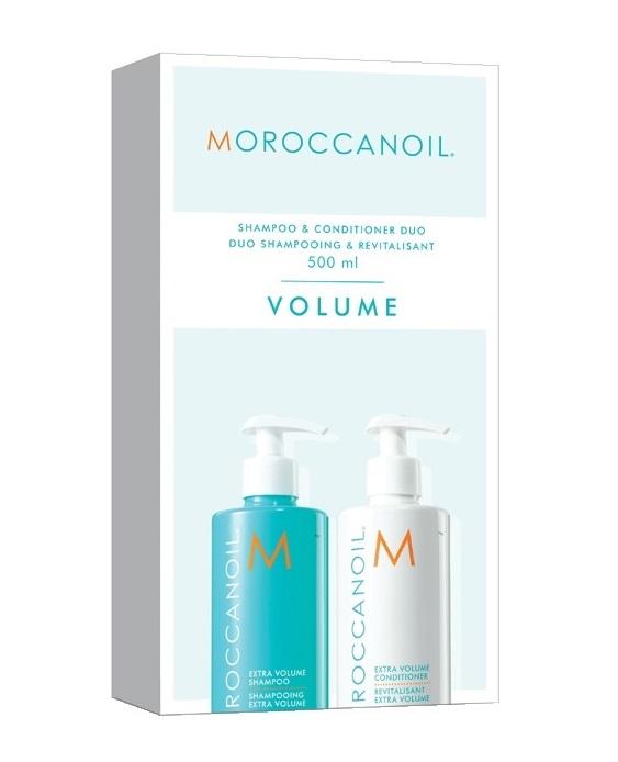 Купить MOROCCANOIL Набор Объем для волос, в боксе (шампунь 500 мл, кондиционер 500 мл) VOLUME