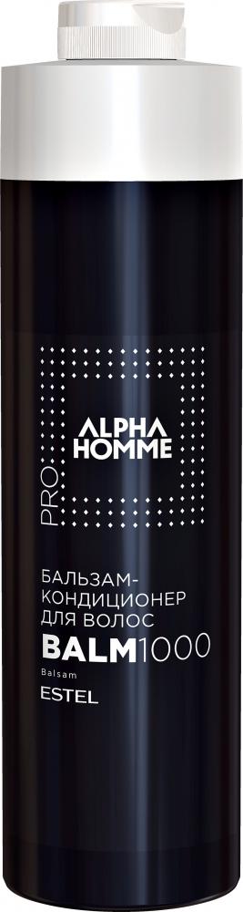 ESTEL PROFESSIONAL Бальзам-кондиционер для волос, для мужчин / ALPHA HOMME PRO 1000 мл  - Купить