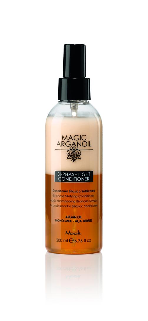 NOOK Кондиционер легкий двухфазный для волос Магия Арганы / Keratin Power Booster MAGIC ARGANOIL 200мл