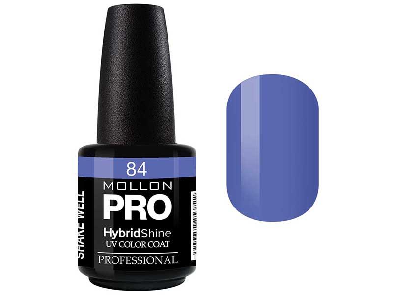 MOLLON PRO Гель-лак для ногтей УФ / HybridShine UV Color Coat  84 15мл