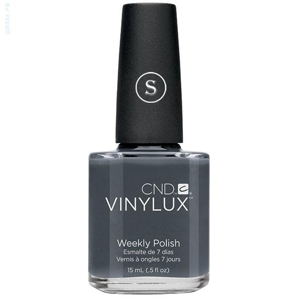 CND 101 лак недельный для ногтей Asphalt / VINYLUX 15мл cnd 154 лак недельный для ногтей tropix vinylux 15мл