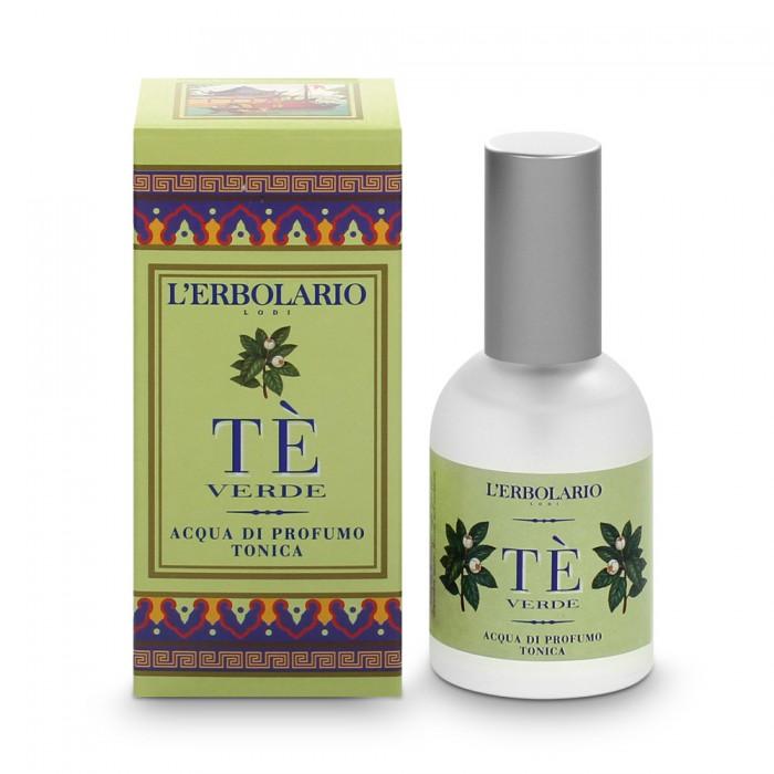 LERBOLARIO Вода тонизирующая парфюмированная Зеленый чай 50мл
