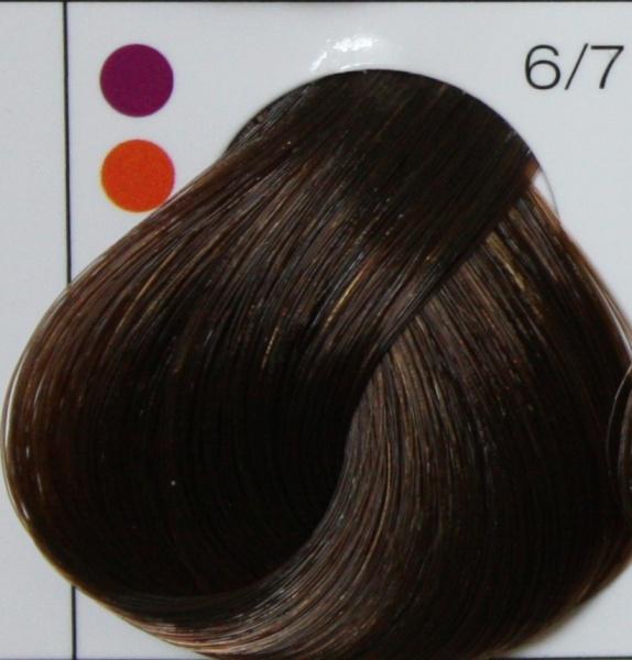 LONDA PROFESSIONAL 6/7 краска для волос (интенсивное тонирование), темный блонд коричневый / LC NEW 60мл londa интенсивное тонирование 42 оттенка 60 мл londacolor интенсивное тонирование 7 43 блонд медно золотистый 60 мл 60 мл