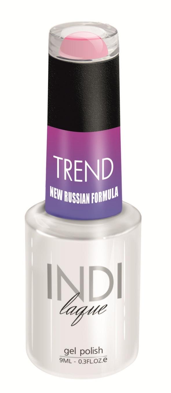 Купить RuNail 5078 гель-лак для ногтей / INDI laque Trend 9 мл, Розовые