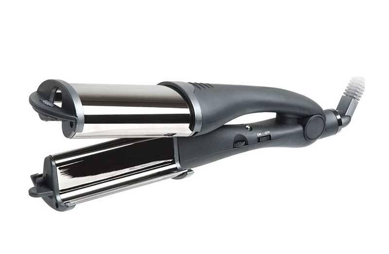 HAIRWAY Плойка-волна HW Titanium-Tourmaline овальная 100WПлойки<br>Размер волны : 18-18-18 мм Регулятор температуры: от 150 C до 210 C Мощность: 100 W Легко превращается в обычную плойку<br>